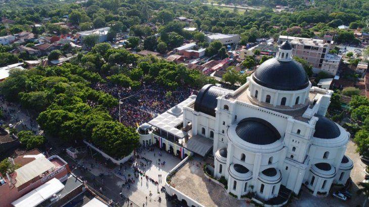 Millones de feligreses llegaron este 8 de diciembre hasta la Basílica Menor para la fiesta de la Virgen de Caacupé.