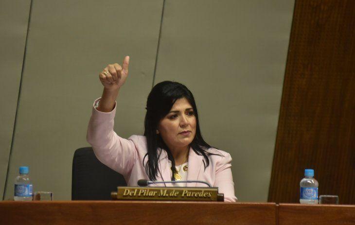 Del Pilar Medina es miembro de la Comisión de Equidad Social yGénero de Diputados.