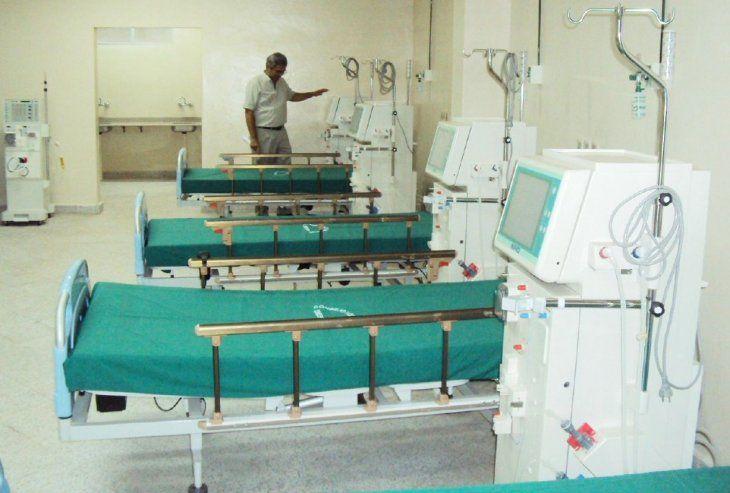 Falla eléctrica. Cinco máquinas de hemodiálisis que asisten a 22 pacientes sufrieron averías.