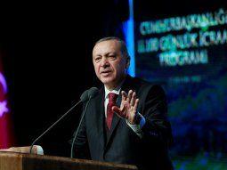 Recep Tayyip Erdogan, presidente turco, amenazó con intervenir en la región de Manbech si Estados Unidos no retira milicias kurdosirias.