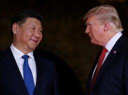 El presidente de China, Xi Jinping y el presidente de los Estados Unidos, Donald Trump, protagonizaron un año tenso en materia comercial.