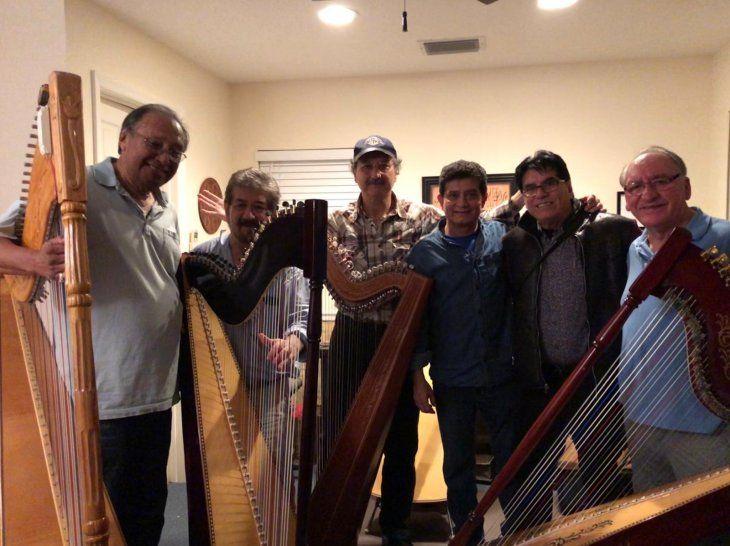 Serán 12 arpistas paraguayos en el concierto