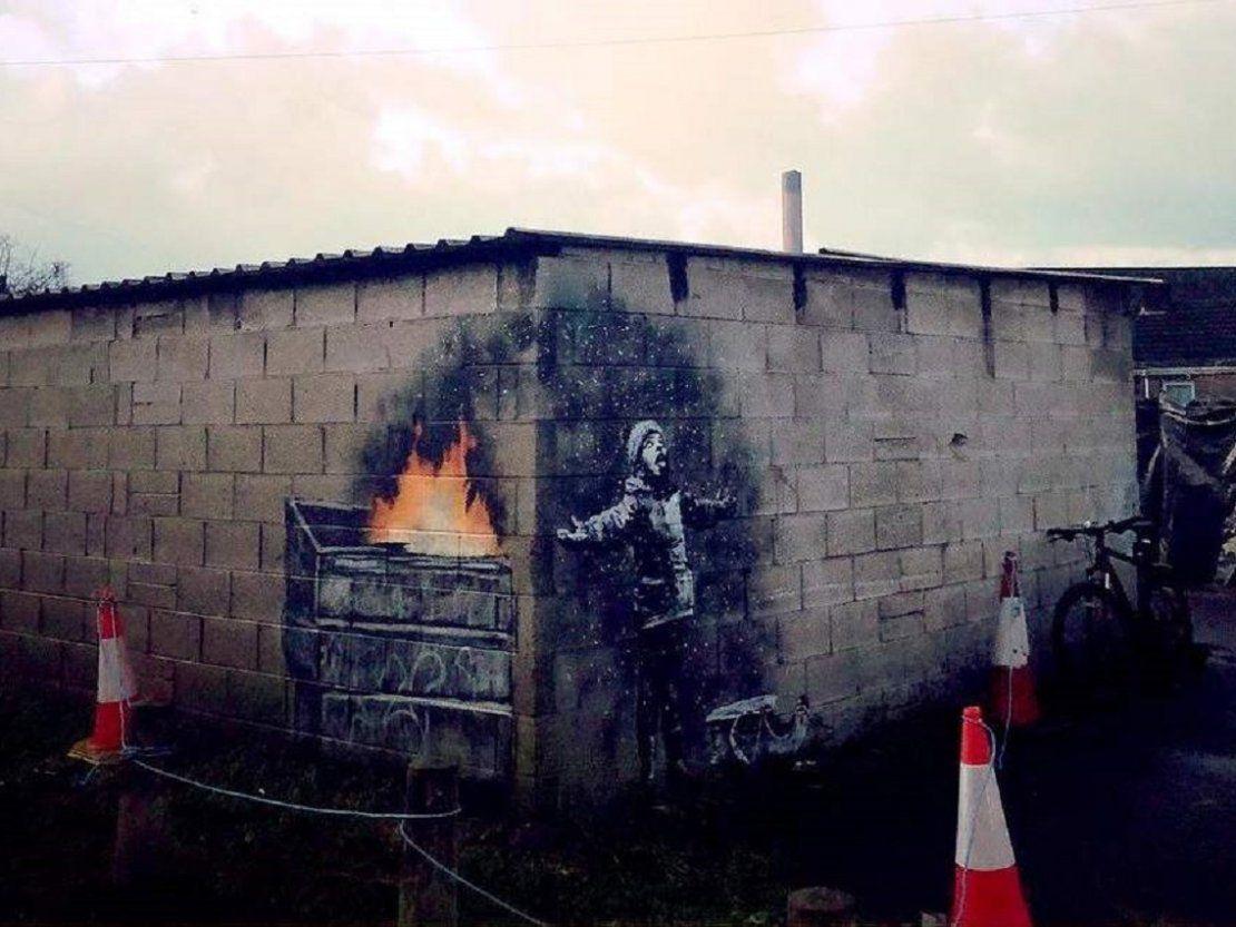 Resultado de imagen para Banksy Port Talbot, en Gales