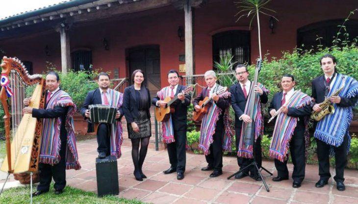 Música. El Conjunto Folklorico Municipal de Asunción amenizará el acto cultural.