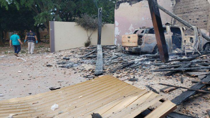 El ataque ocurrió durante la madrugada del miércoles 19 de diciembre.