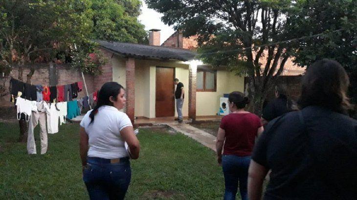 La mujer fue rescatada por las autoridades en Minga Guazú