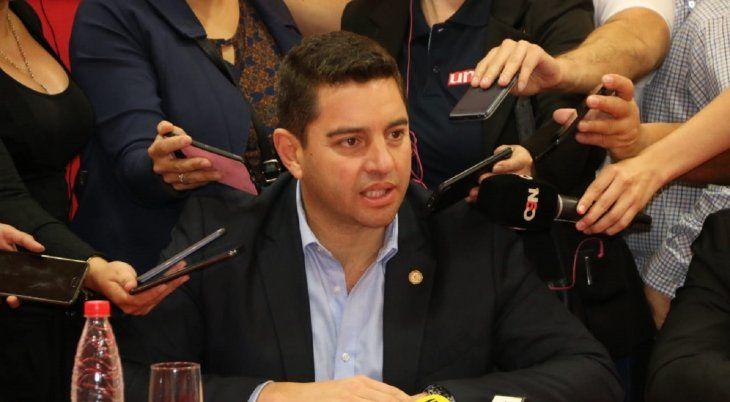 El diputado colorado Pedro Alliana fue internado en el hospital Sirio Libanés de Brasil.
