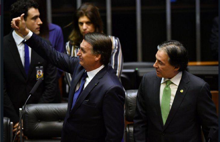 Jair Bolsonarojuró como nuevo presidente constitucional de la República Federativa de Brasil.