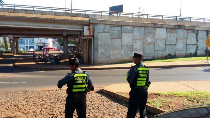 La Patrullera Caminera ya inició los controles en la ruta 7 de Ciudad del Este.