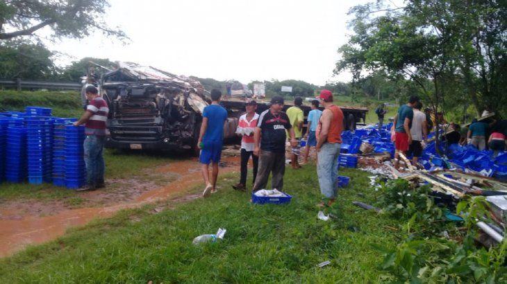 No hubo testigos presenciales del accidente ocurrido en Coronel Oviedo.
