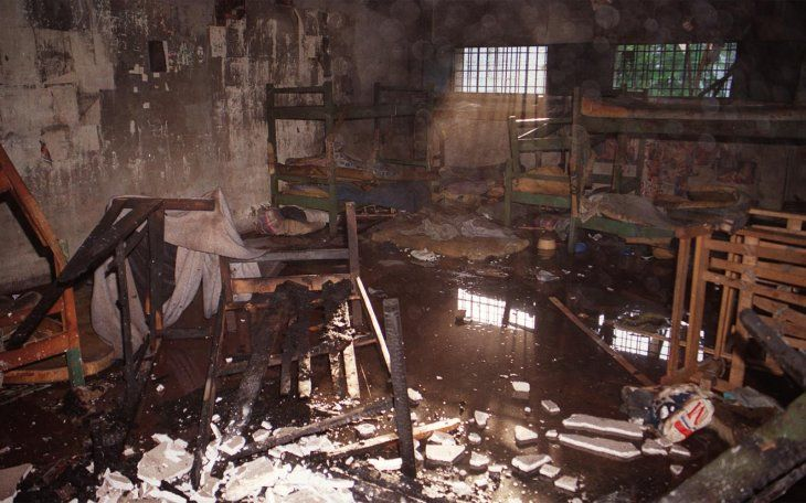 En 2001 unincendioen la cárcelPanchito Lópezdejó un saldo de 12 muertos.