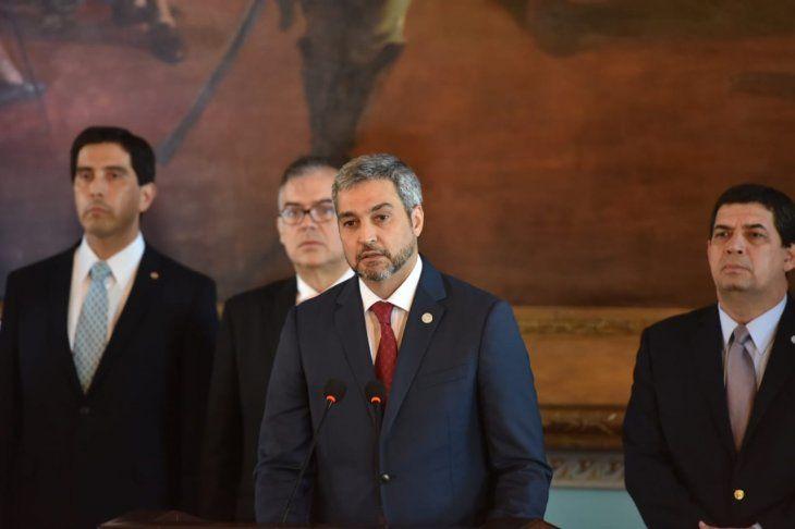 El Gobierno de Mario Abdo Benítez anunció la ruptura de las relaciones diplomáticas con la República Bolivariana de Venezuela.