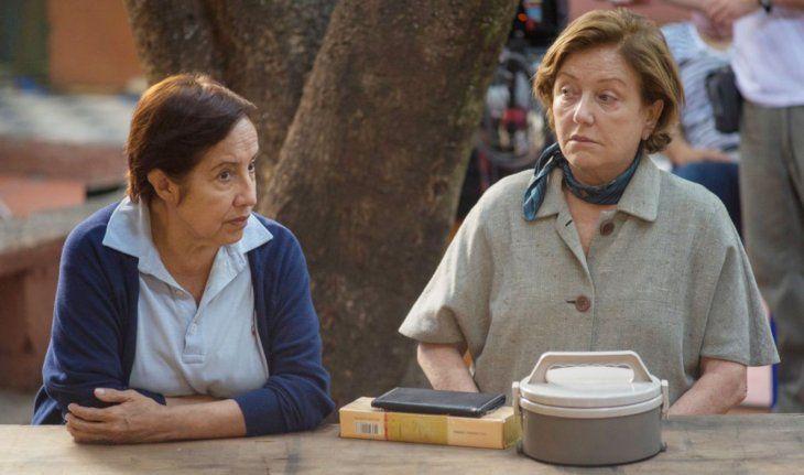 Protagonistas. Chiquita (Margarita Irún) y  Chela (Ana Brun) protagonizan el largometraje Las herederas.