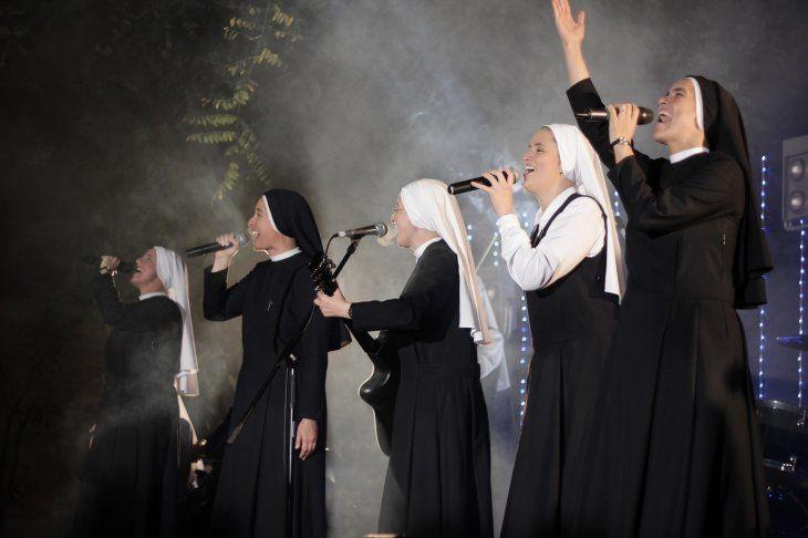 El grupo Siervas está integrado por nueve monjasde la congregación Las Siervas del Plan de Dios.