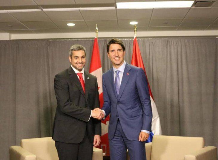 Paraguay y Canadá trabajarán para promover la democracia en Venezuela