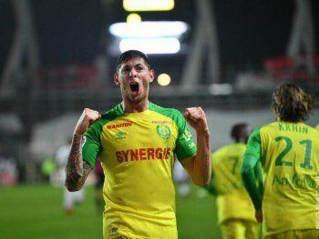 Emiliano Sala se destapó en el FC Nantes.