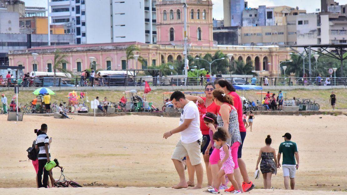 Costanera de Asunción, una opción para disfrutar del verano