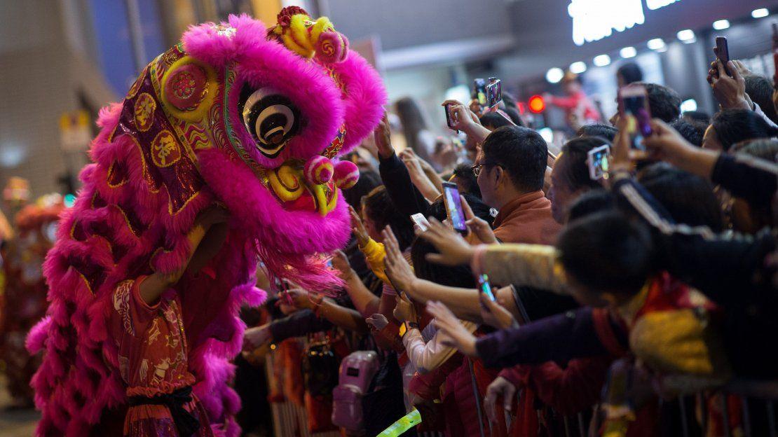 Millones de personas dieron la bienvenida al Año Nuevo lunar chino