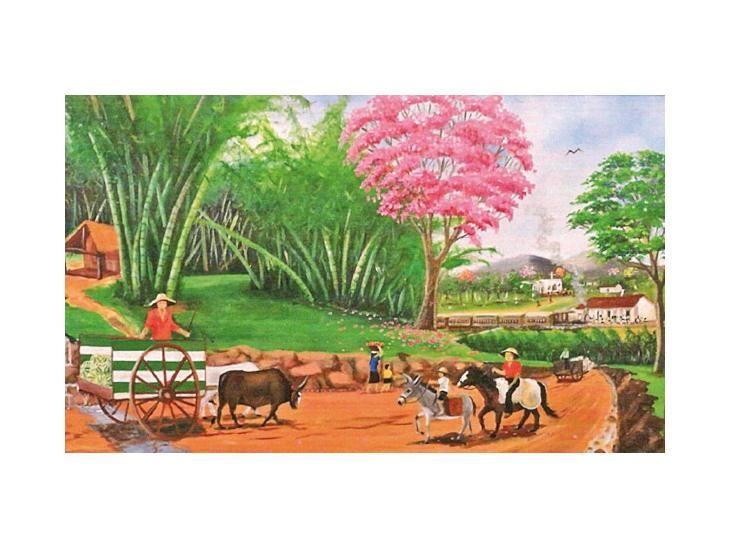 Paisajes. Plinio Duarte Oviedo presenta óleos de la Ypacaraí de antaño