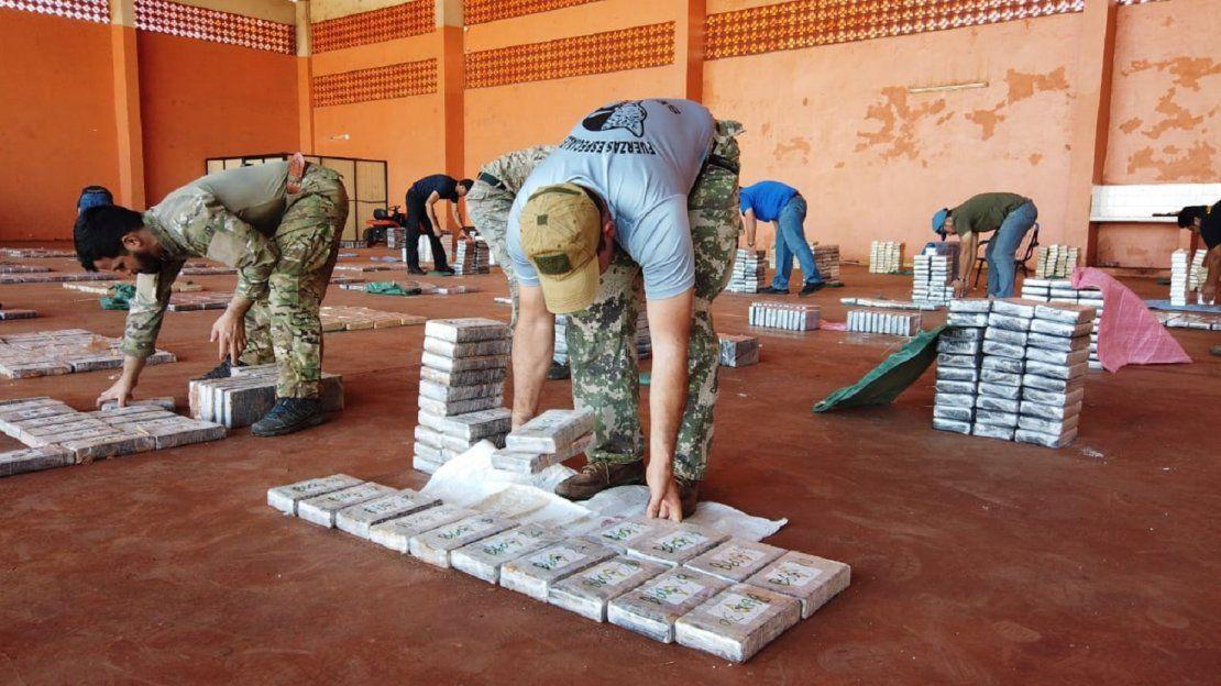 Histórica incautación de cocaína en Concepción