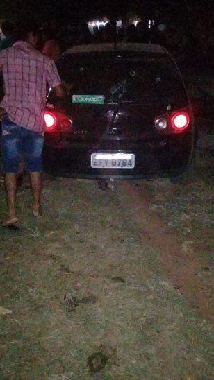 El vehículo en el que viajaban las víctimas tenía chapa brasileña.