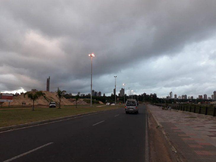 Meteorología alerta sobre posibles tormentas en varios departamentos del país.