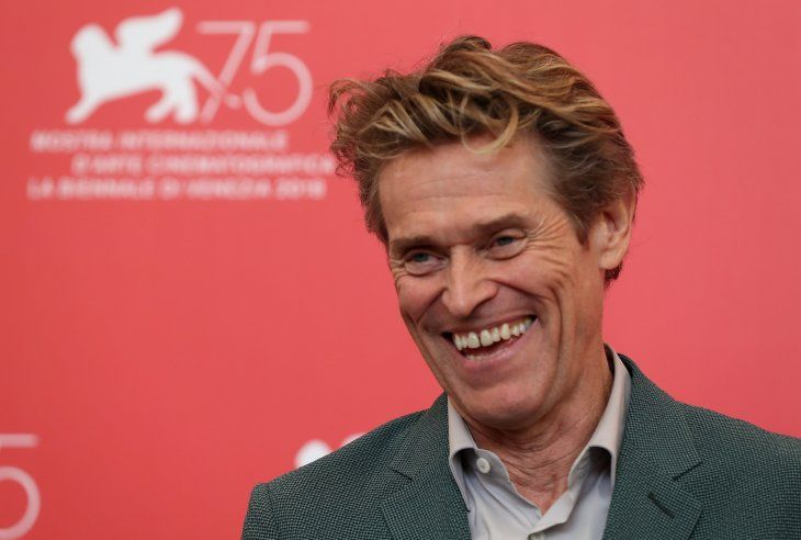 El actor estadounidense Willem Dafoe, que aspira al Óscar a mejor actor por su papel en la cinta At Eternity's Gate. Foto: Reuters