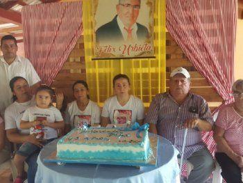 Los familiares de Félix Urbieta piden una prueba de vida en el día de su cumpleaños.
