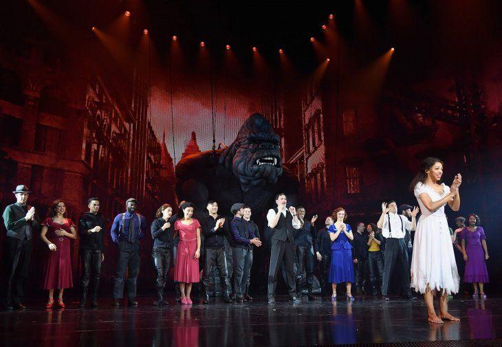 el musical de Broadway King Kong