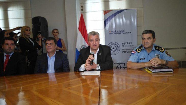 Sincalistas del Sitrande califican de irresponsable al ministro del Interior Juan Ernesto Villamayor.