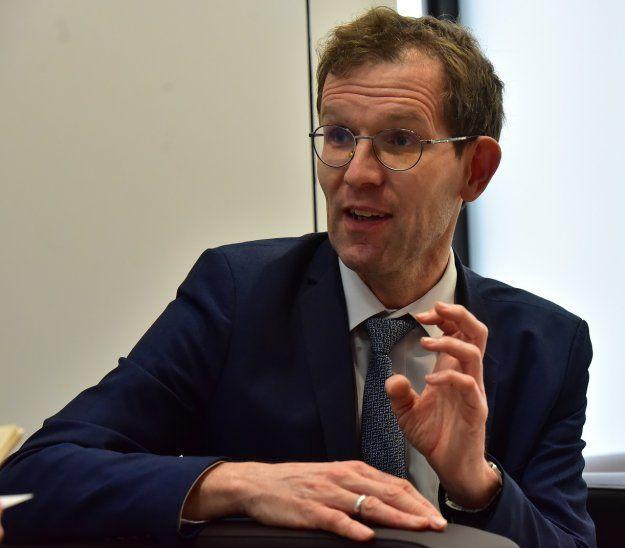 Análisis. Bas Bakker apuntó los desafíos del país para sostener el crecimiento económico.