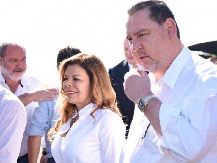 Javier Zacarías Irún y Sandra McLeod.