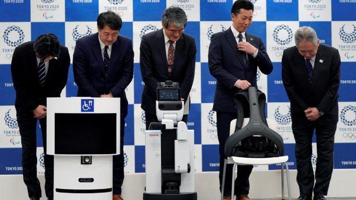El objetivo es que los robots ayuden a mejorar la experiencia de asistir a unos  Juegos Olímpicos.
