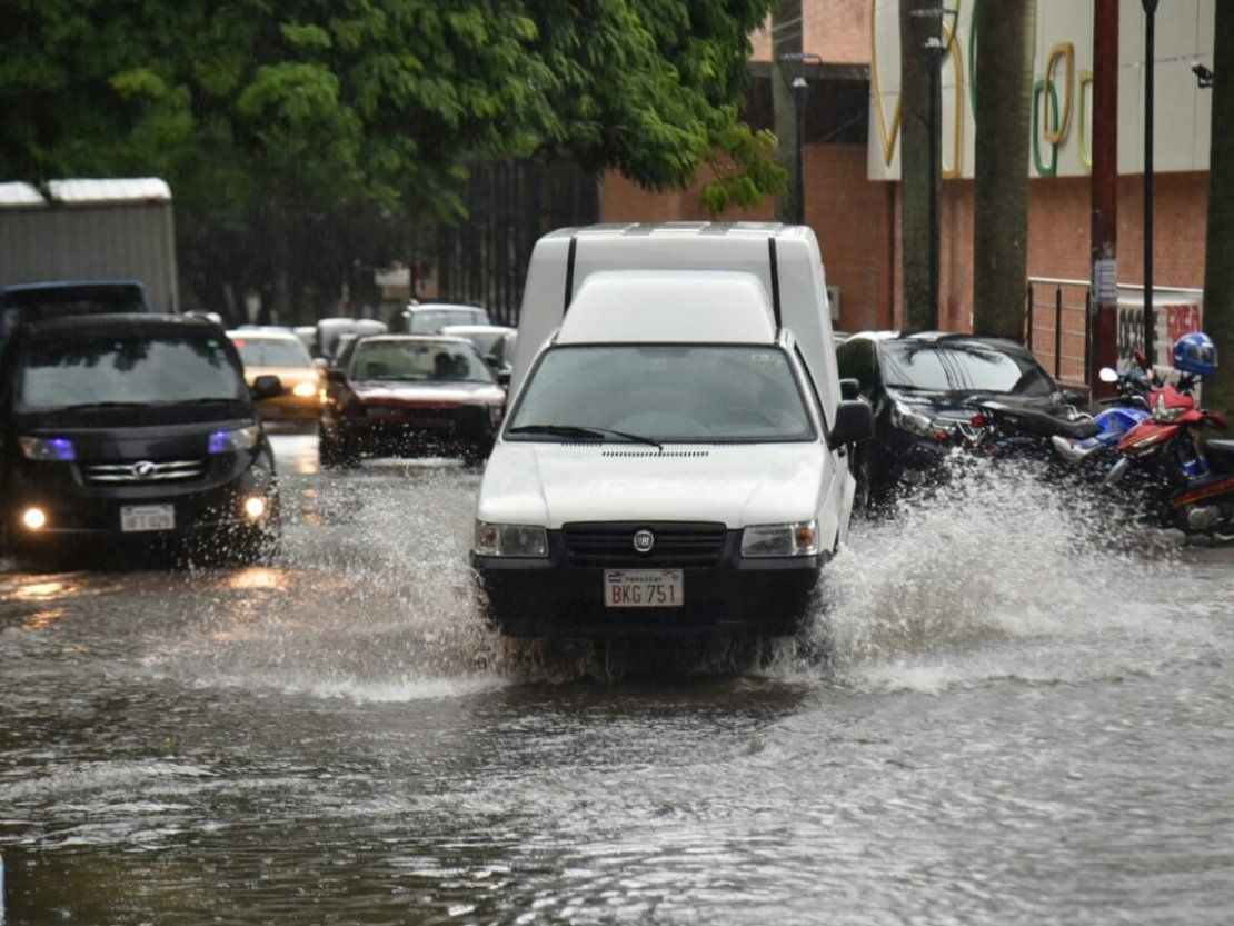 Alerta por tormentas en cinco departamentos