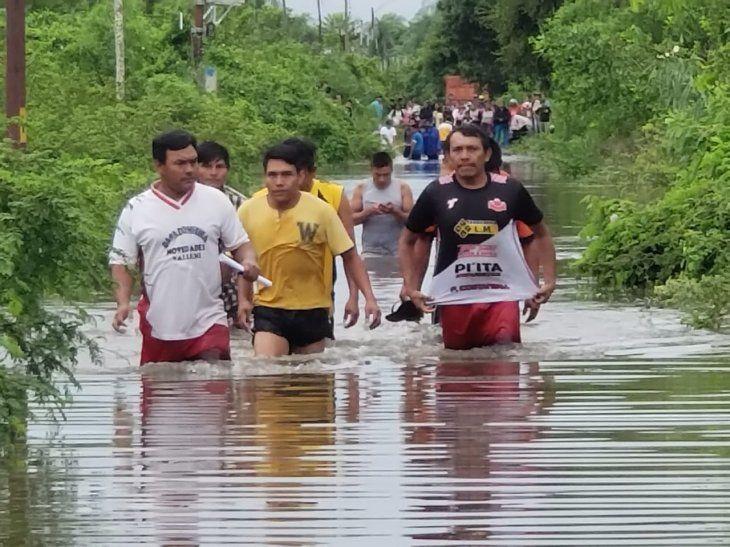 Senado declara en emergencia al Departamento de Concepción a raíz de las inundaciones.