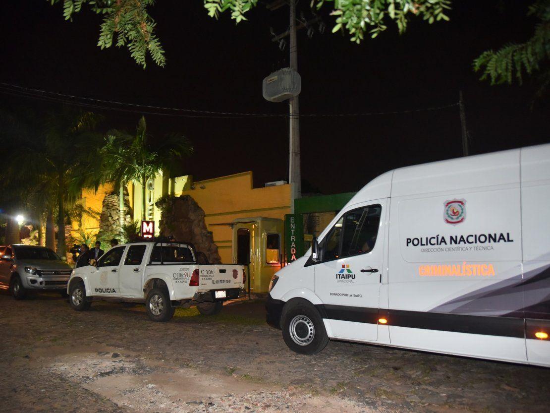 Millonario asalto a un motel de Mariano Roque Alonso