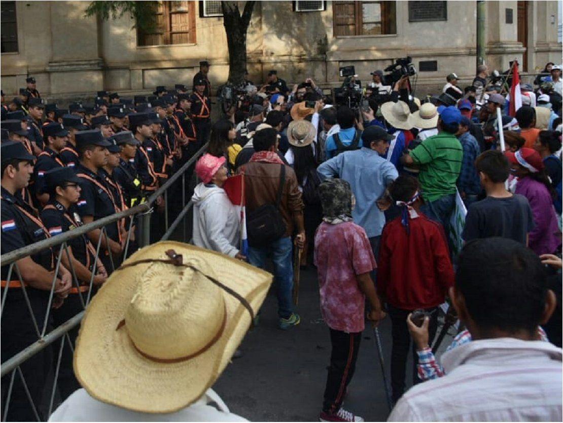 Ley del marchódromo: Repudian prohibición y presionan para marchar