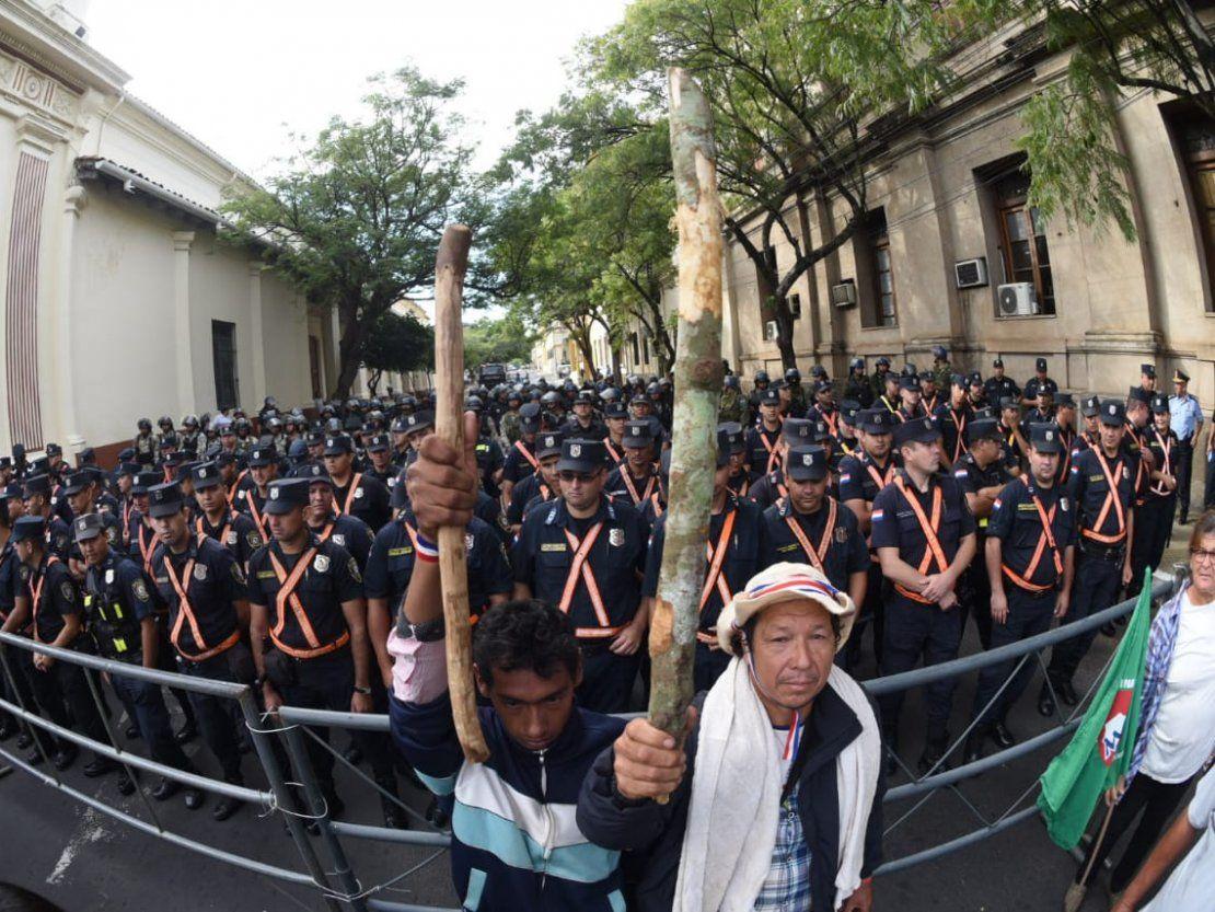 Paraguayo Cubas pedirá derogación de la ley del marchódromo