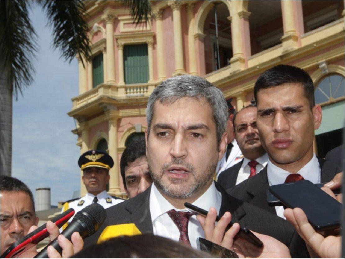 Mario Abdo pide reclamos más razonables a sectores movilizados