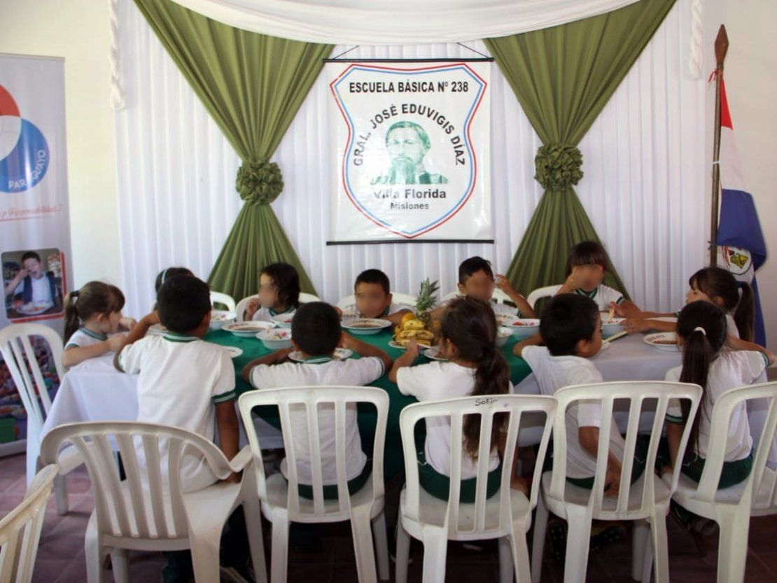 Misiones: Gobernación comenzó a repartir el almuerzo escolar