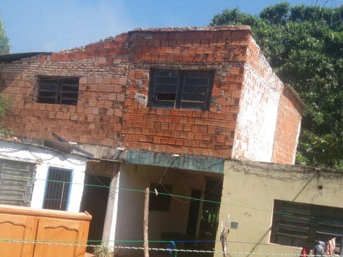 Un hombre falleció en incendio de una vivienda en San Lorenzo