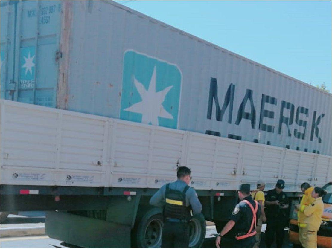 Ciclista fallece tras ser atropellado por un camión en Itauguá
