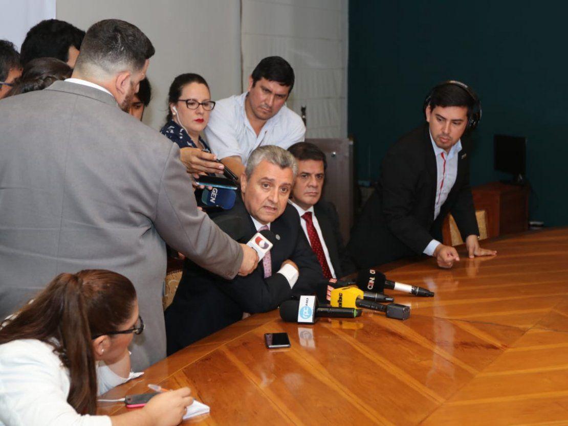 Villamayor dice que orden de ingresar al PLRA fue ajena a la Policía
