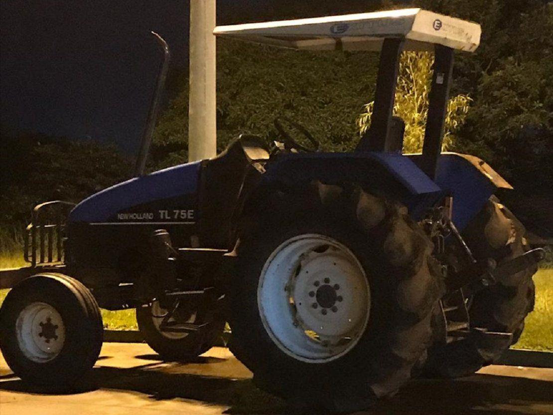 Incautan tractor ingresado de contrabando en Pedro Juan Caballero