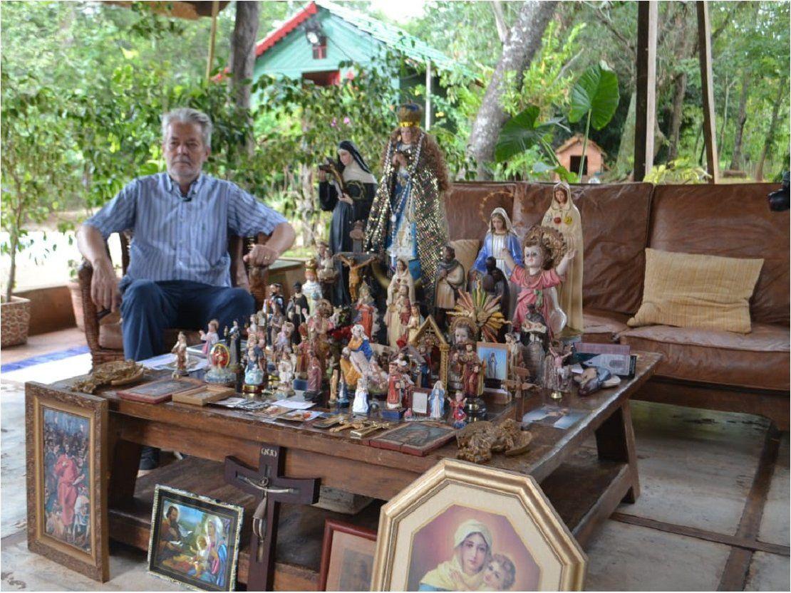 Koki Ruiz anuncia un retablo de santos populares en Tañarandy