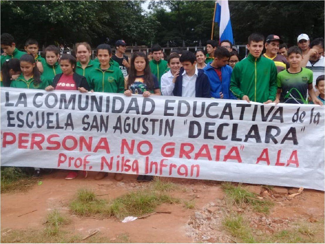 Levantan toma de colegio en Coronel Oviedo
