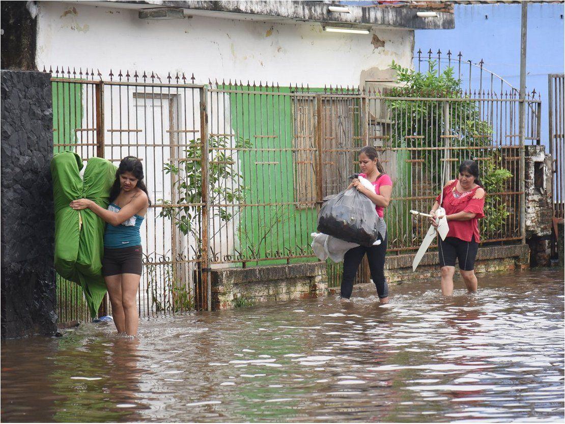 Damnificados: Las inundaciones perjudican la salud mental de los niños