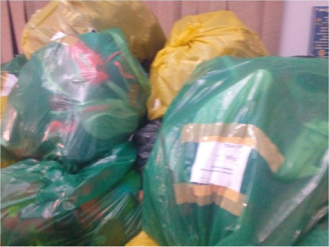 Mercado 4: Decomisan prendas deportivas y calzados falsificados