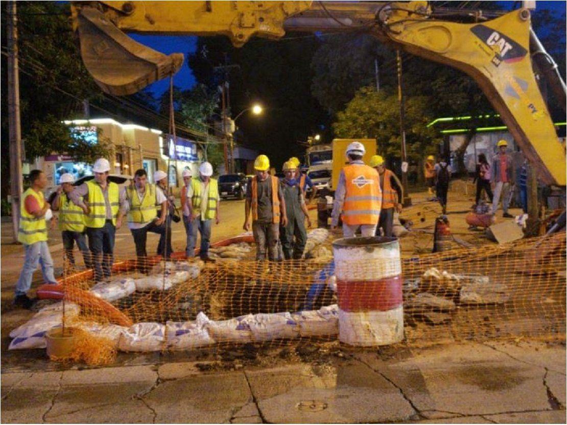 Circulación vehicular en la avenida España estará restablecida el lunes