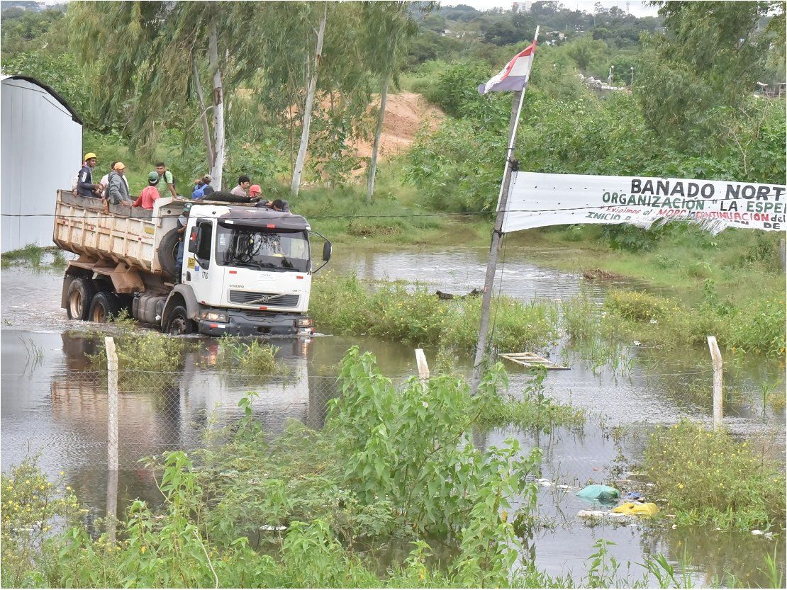 Inundaciones: Suman 21.000 familias afectadas en todo el país, según la SEN